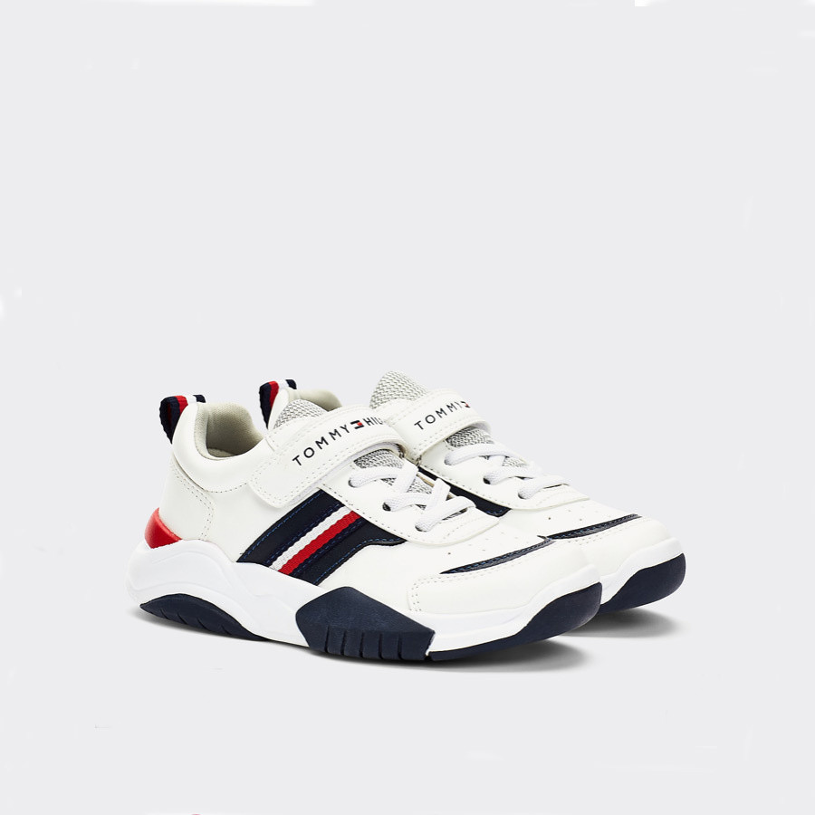 Tommy Hilfiger Low cut 30728 white blue