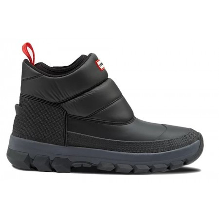 Hunter Snowboot men original insulated snow ankle boot black-schoenmaat 42