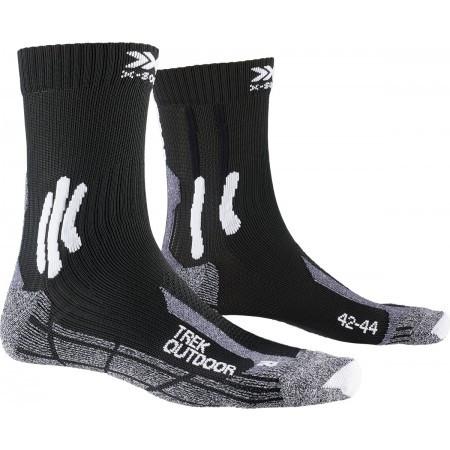 X-Socks Wandelsok men trek outdoor black grey-schoenmaat 39 41