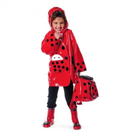 Kidorable Regenjas ladybug-maat