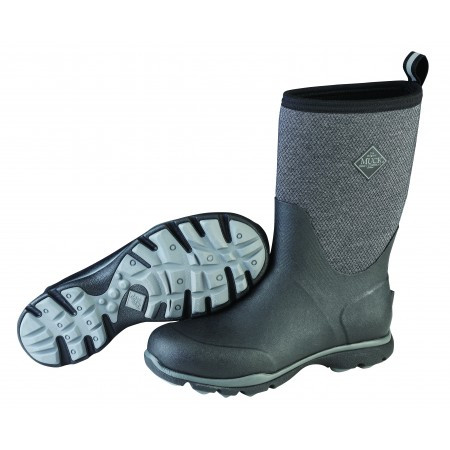 Muck Snowboot arctic excursion mid black grey-schoenmaat 43