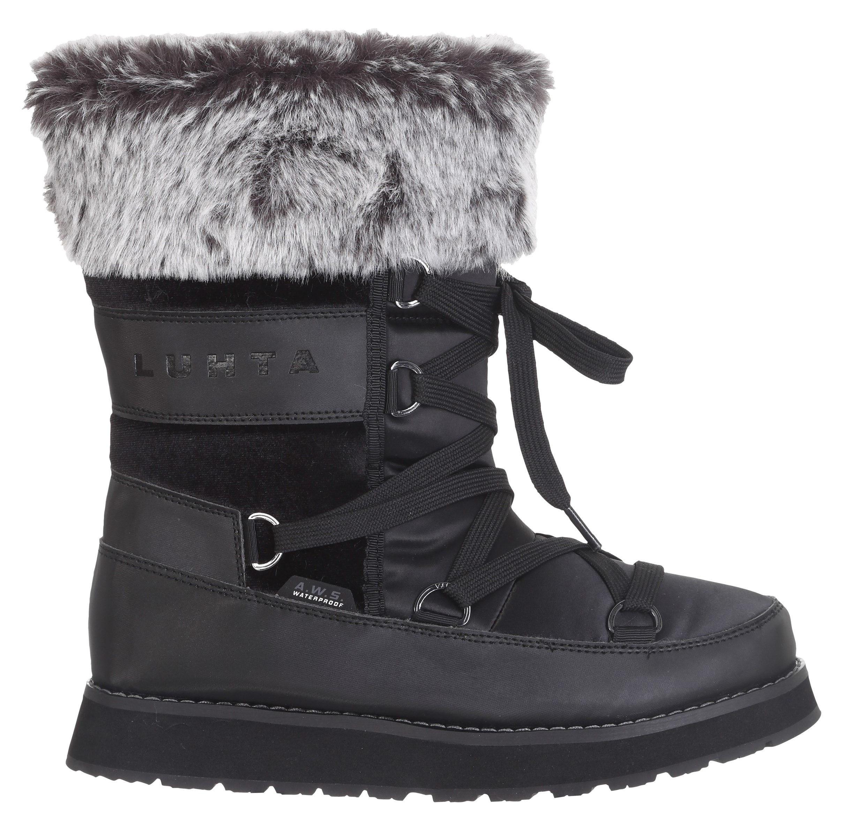 Luhta Snowboot women uusi black-schoenmaat 36