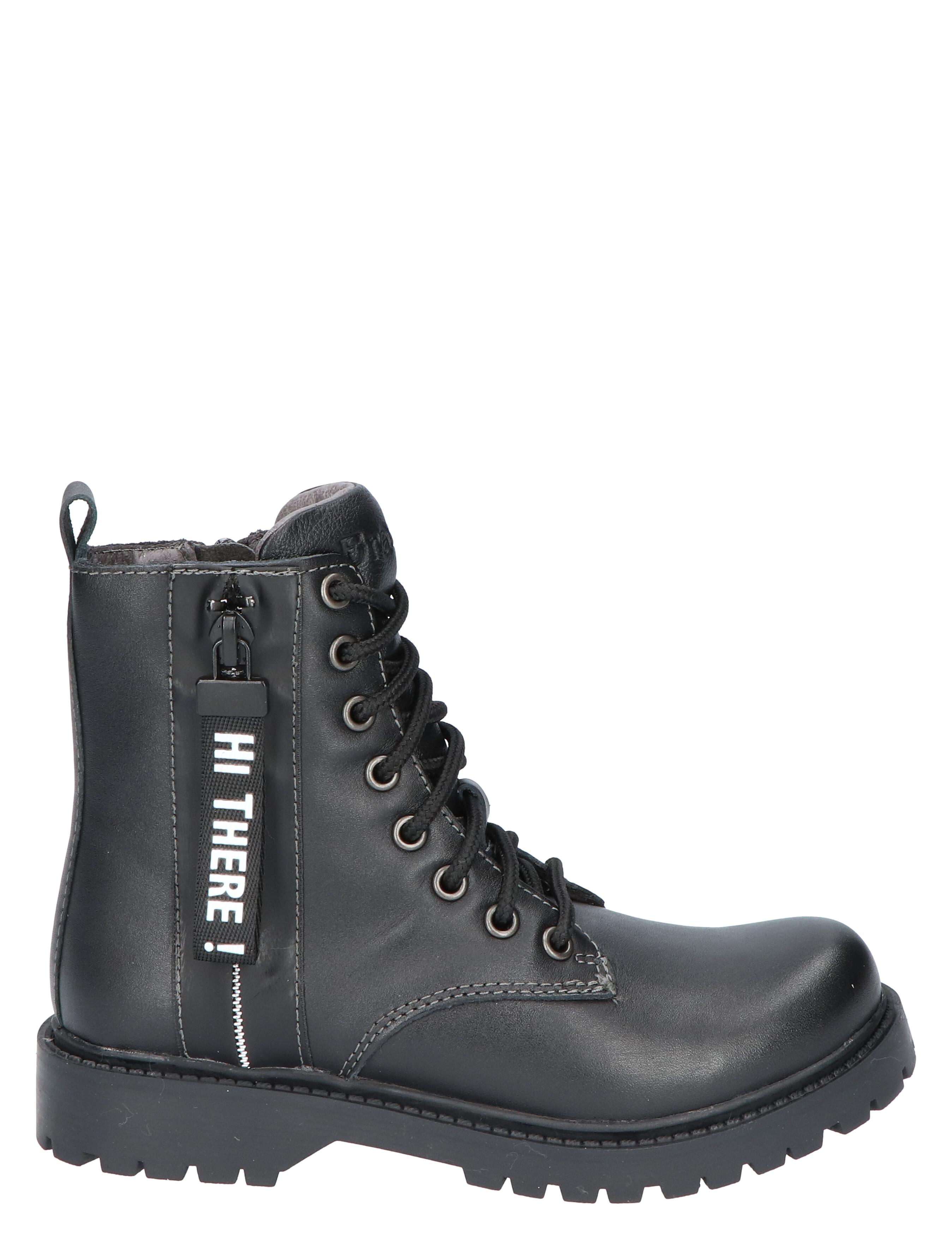 Braqeez 420771 belle boot black leather