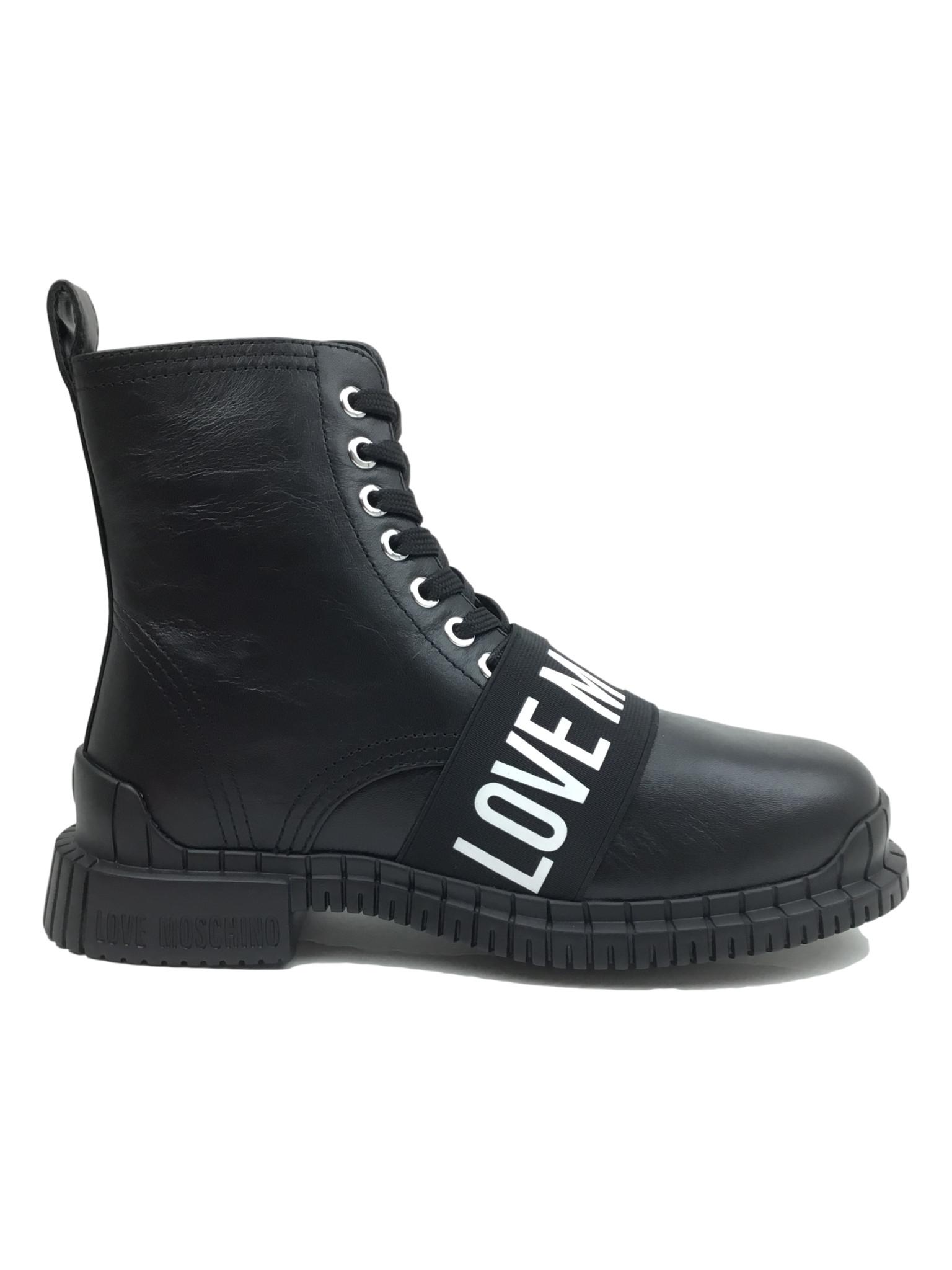 Love Moschino Boots Black