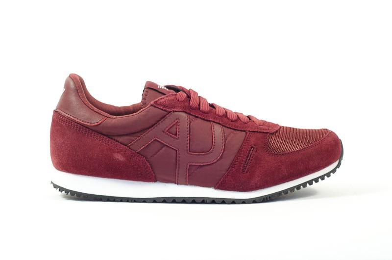 Afbeelding van Armani Jeans Heren sneakers rood