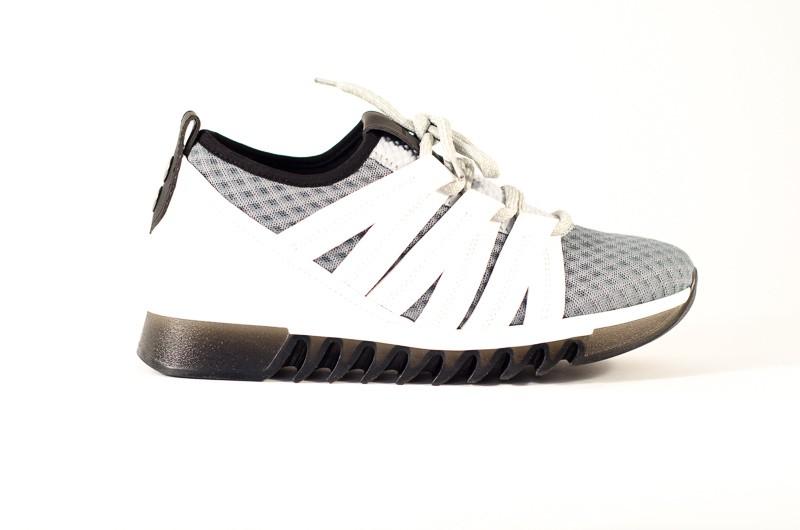 Afbeelding van Alexander Smith London Heren sneakers grijs