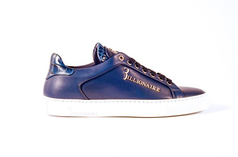 Afbeelding van Billionaire Heren sneakers blauw
