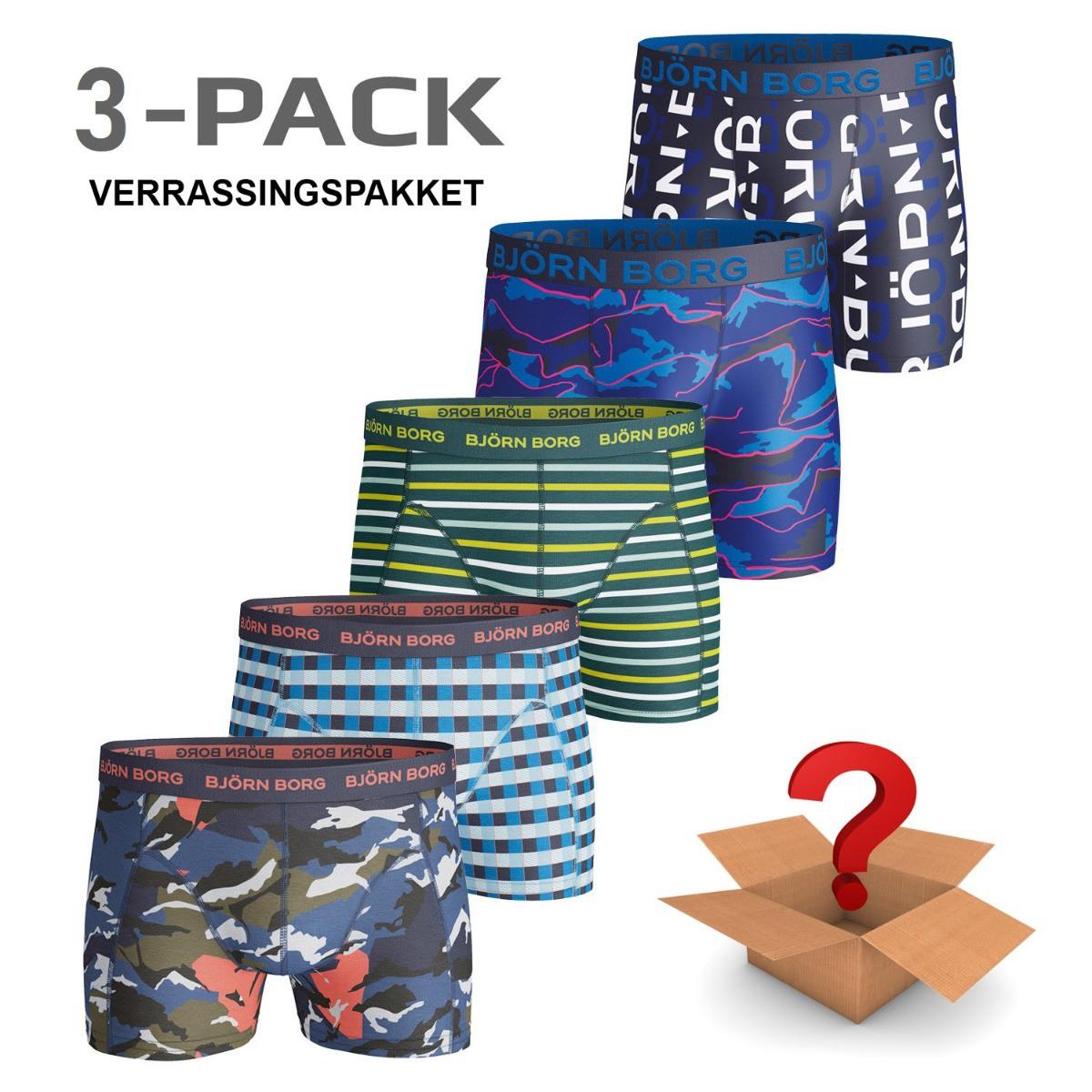 Afbeelding van Bjorn Borg 3-pack boxers