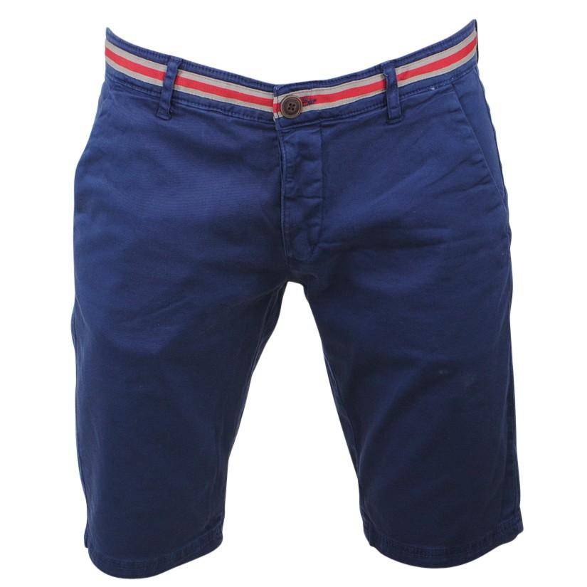 Afbeelding van Biaggio Jeans Heren korte broek faniel navy blauw