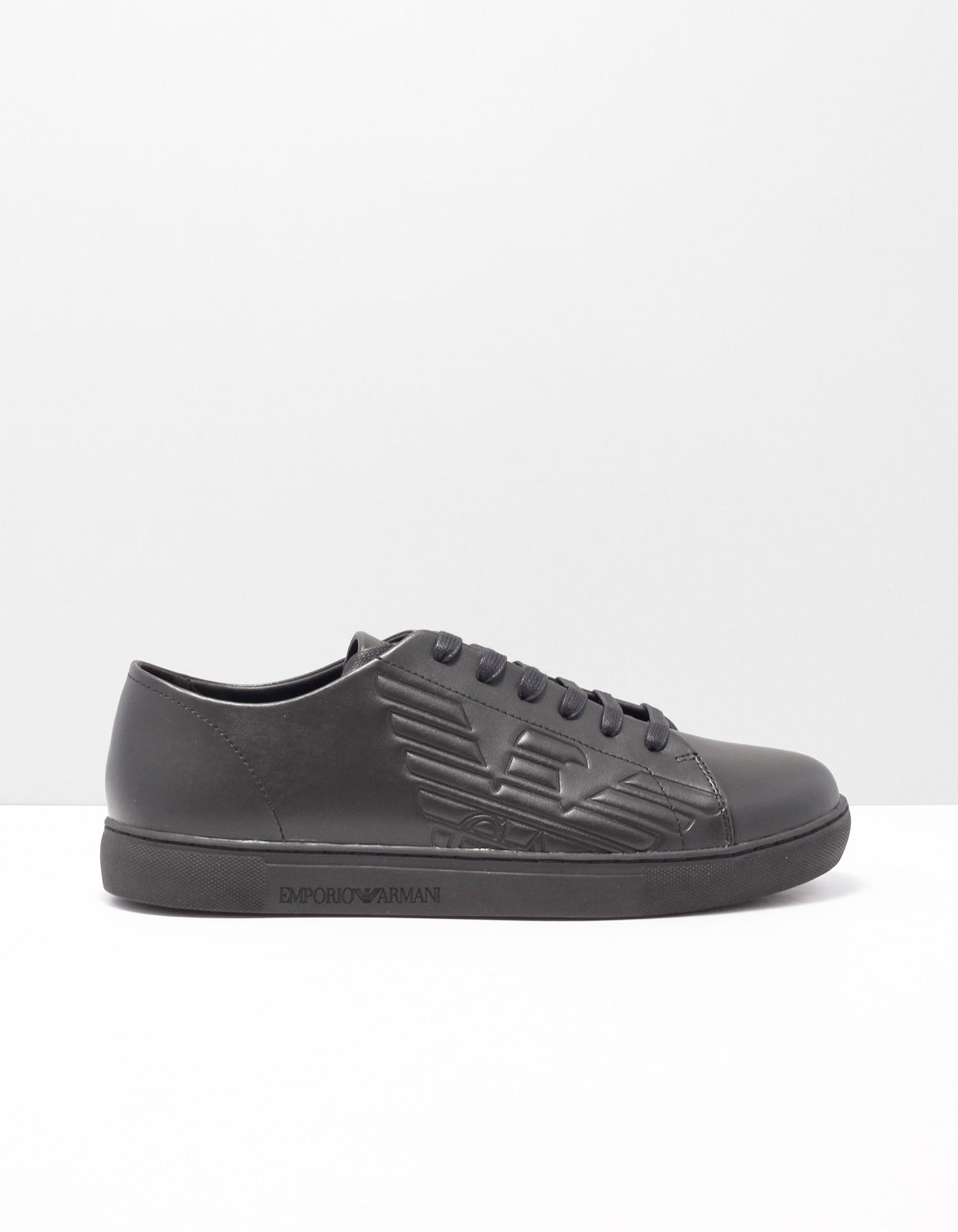 Afbeelding van Armani Jeans Sneakers zwart