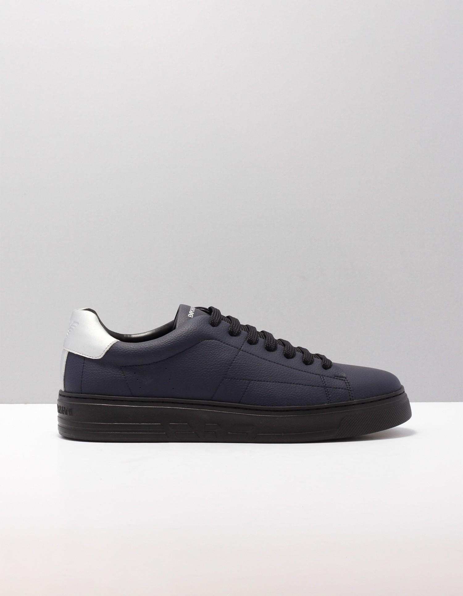 Afbeelding van Armani Jeans Sneakers blauw