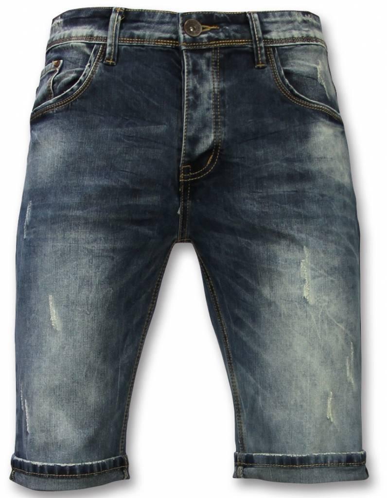 Afbeelding van Black Ace Basic korte broek heren blauw