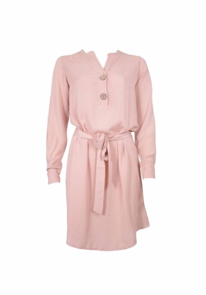 Afbeelding van 20 TO Dress knoop 24u cipria roze