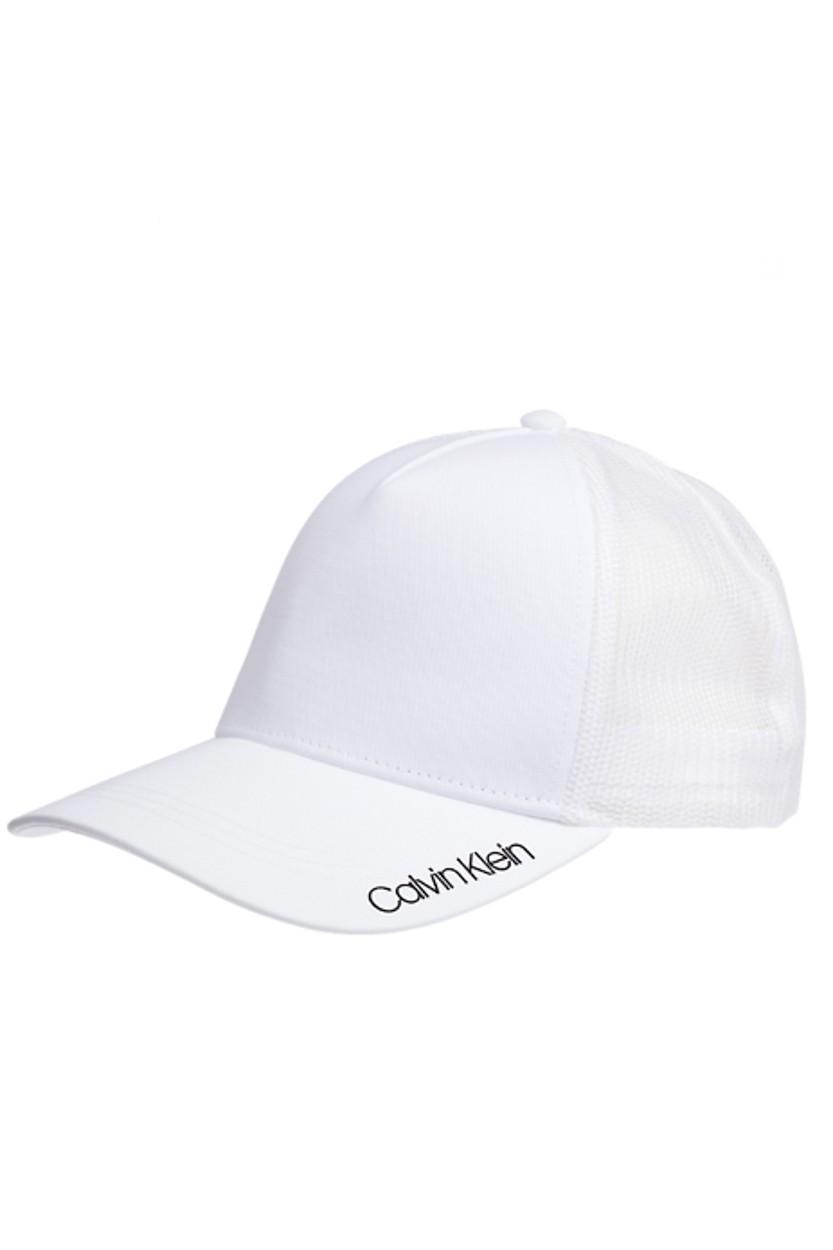 Afbeelding van Calvin Klein Item trucker white wit