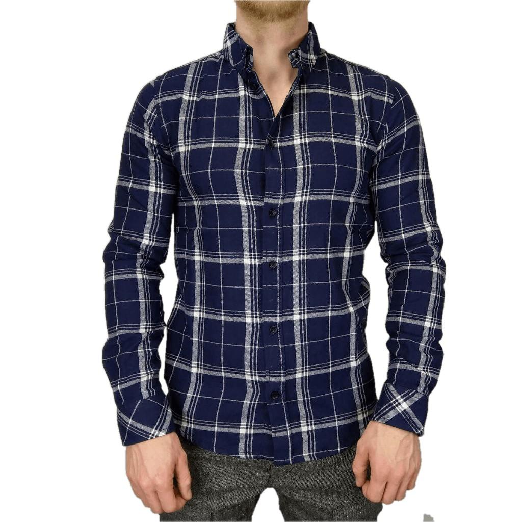 Afbeelding van Anerkjendt Duke shirt blauw