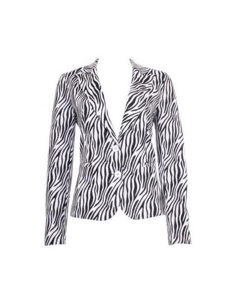 Afbeelding van 20 TO 20to blazer zebra k09/2 zwart