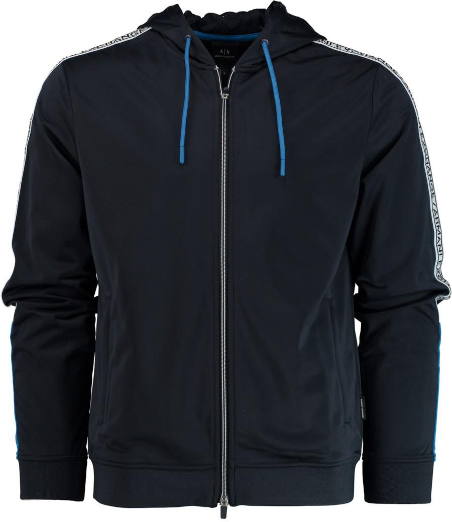 Afbeelding van Armani Exchange Joggingvest 3gzm93.z8m8z/6526 gebreid blauw
