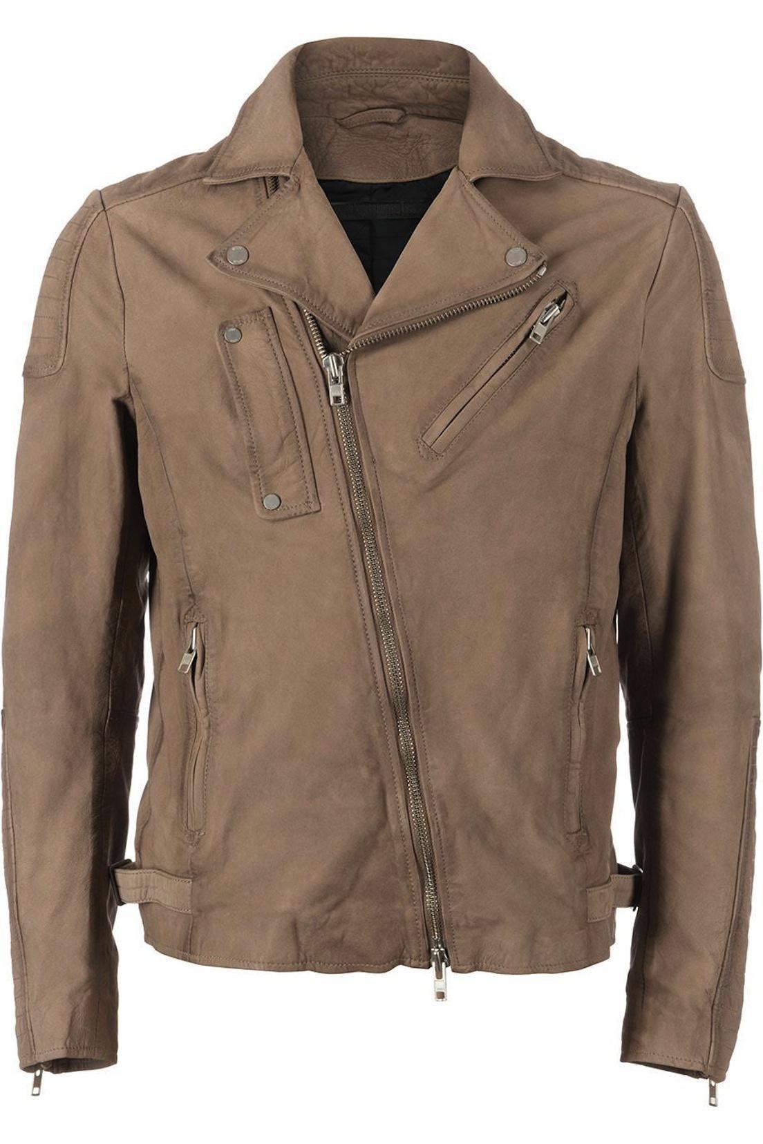 Afbeelding van Drykorn Rochester Leather Jacket camel