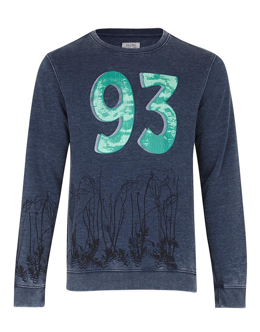 Afbeelding van Blend sweater Blend blauw