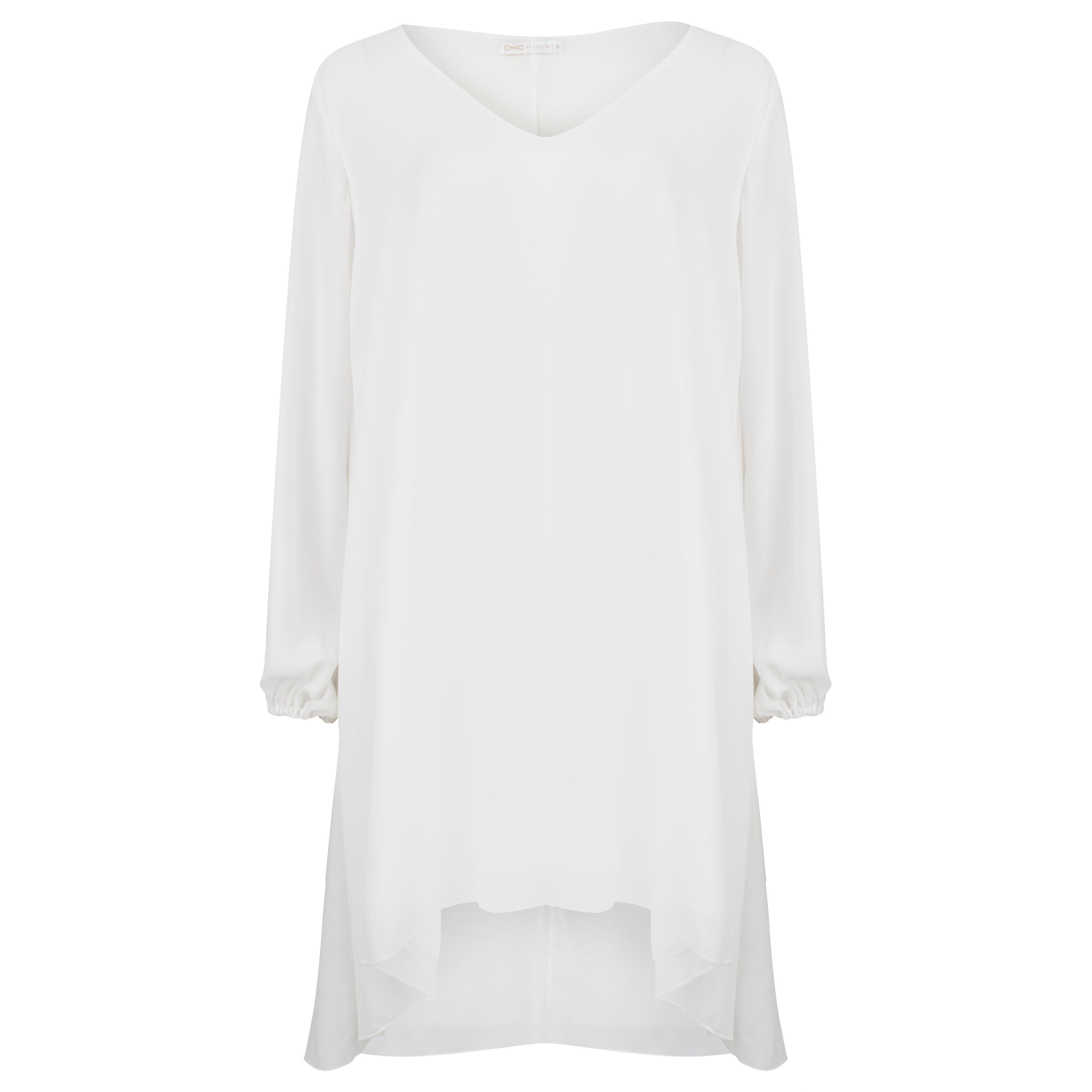 Afbeelding van Chic by Lirette Cover-up Avalon wit
