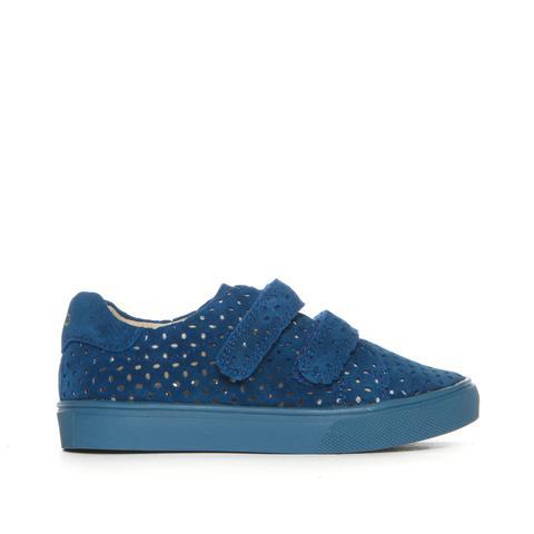 Afbeelding van AKID Axel sneaker met klittenband- blauw