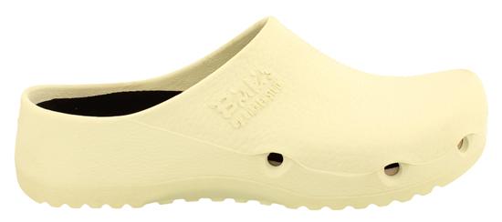 Afbeelding van Birkenstock Air antistatic white pu regular wit