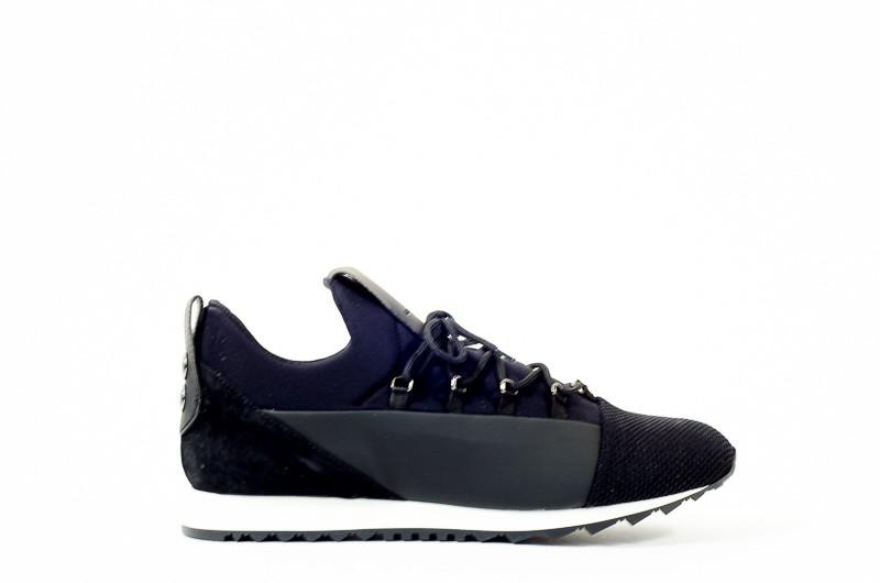 Afbeelding van Alexander Smith London Heren sneakers zwart