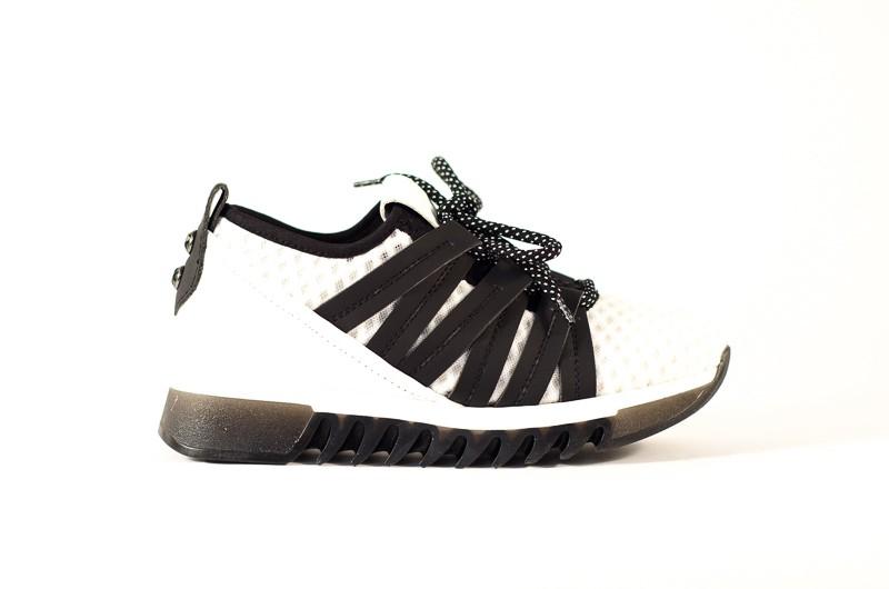 Afbeelding van Alexander Smith London Dames sneakers wit