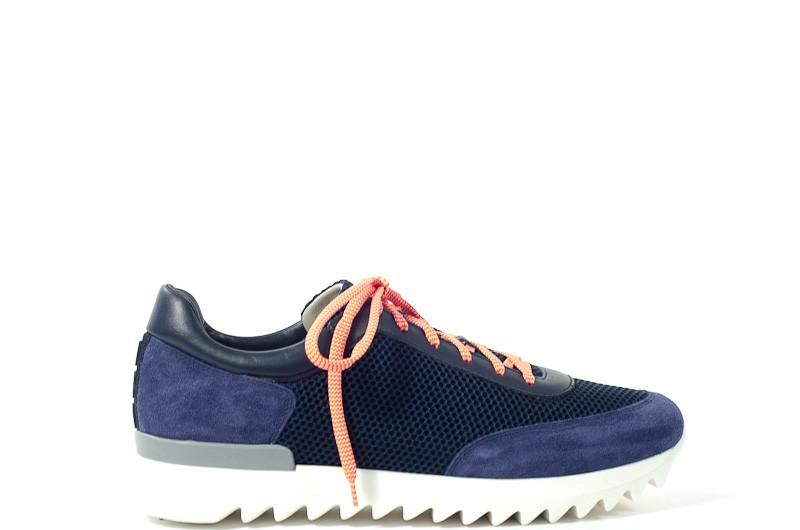 Afbeelding van Alberto Gozzi Heren sneakers blauw