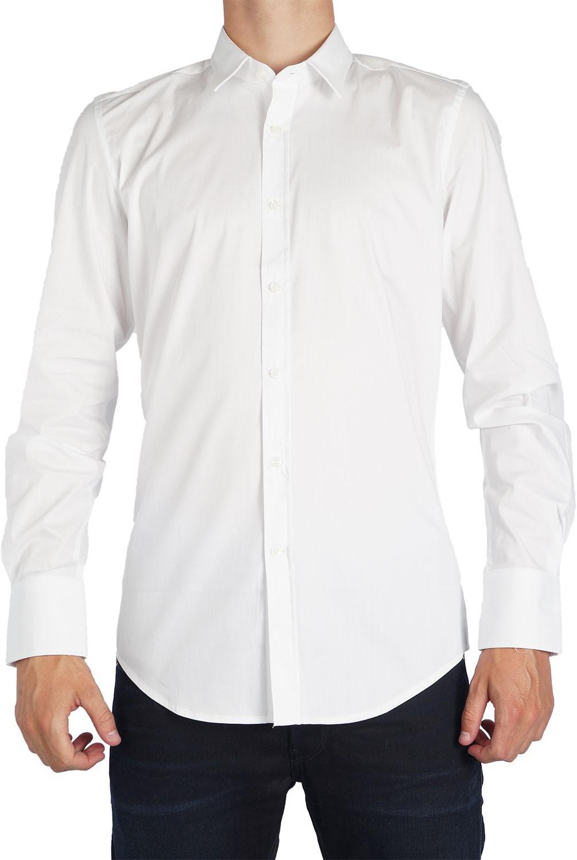Afbeelding van Antony Morato Basic slimfit shirt wit