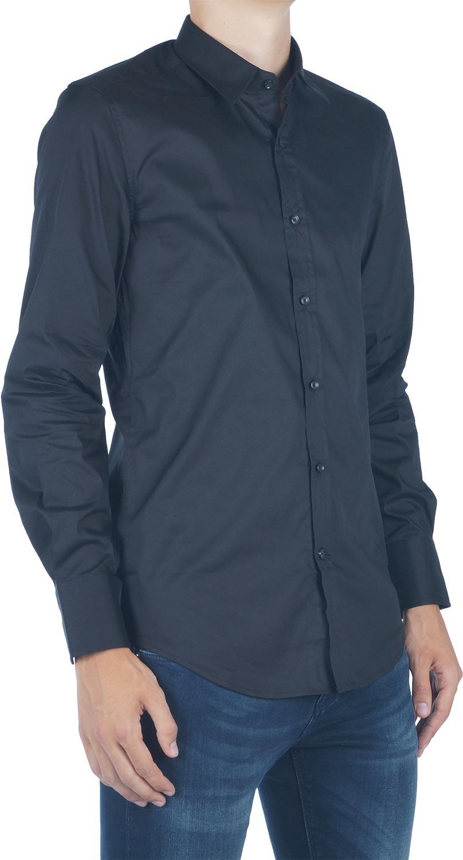 Afbeelding van Antony Morato Basic slimfit shirt zwart