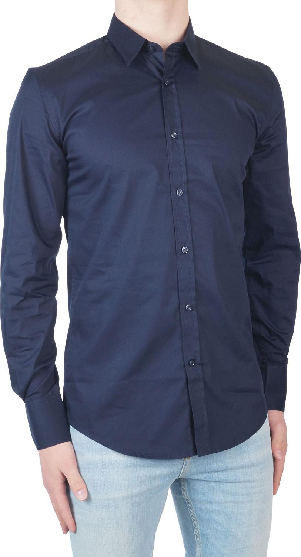 Afbeelding van Antony Morato Basic superslim shirt -5 xl blauw
