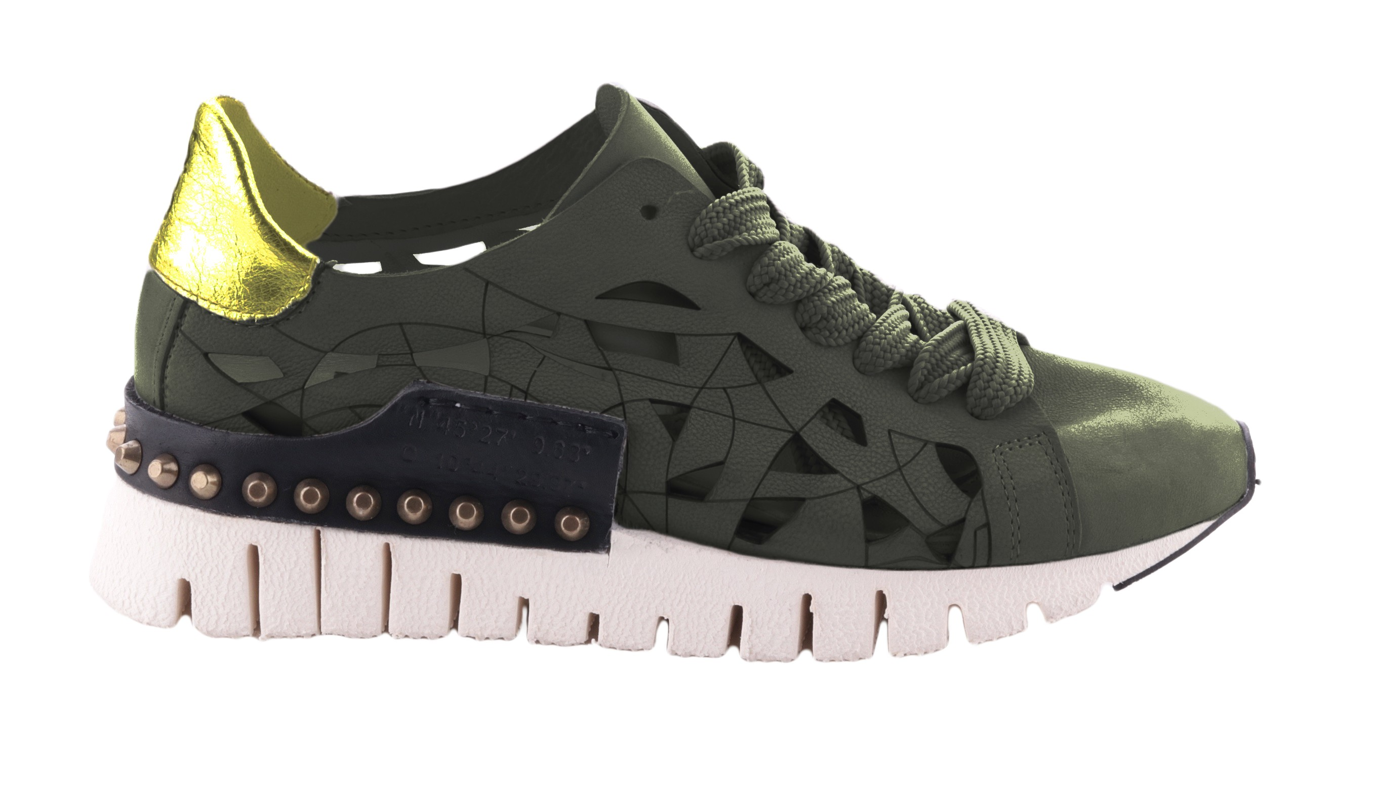 Afbeelding van A.S. 98 A.s. 98 airstep 647102 militare oro nero zilver