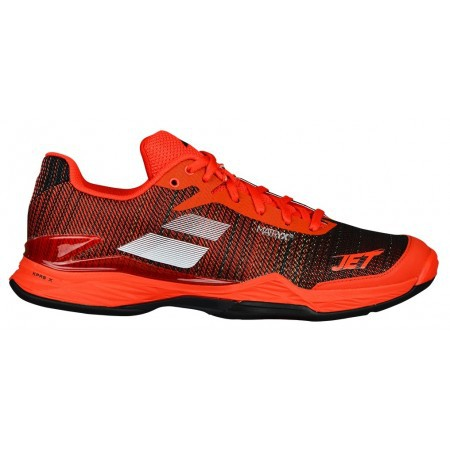 Afbeelding van Babolat Tennisschoen jet mach ii clay men orange.com black oranje