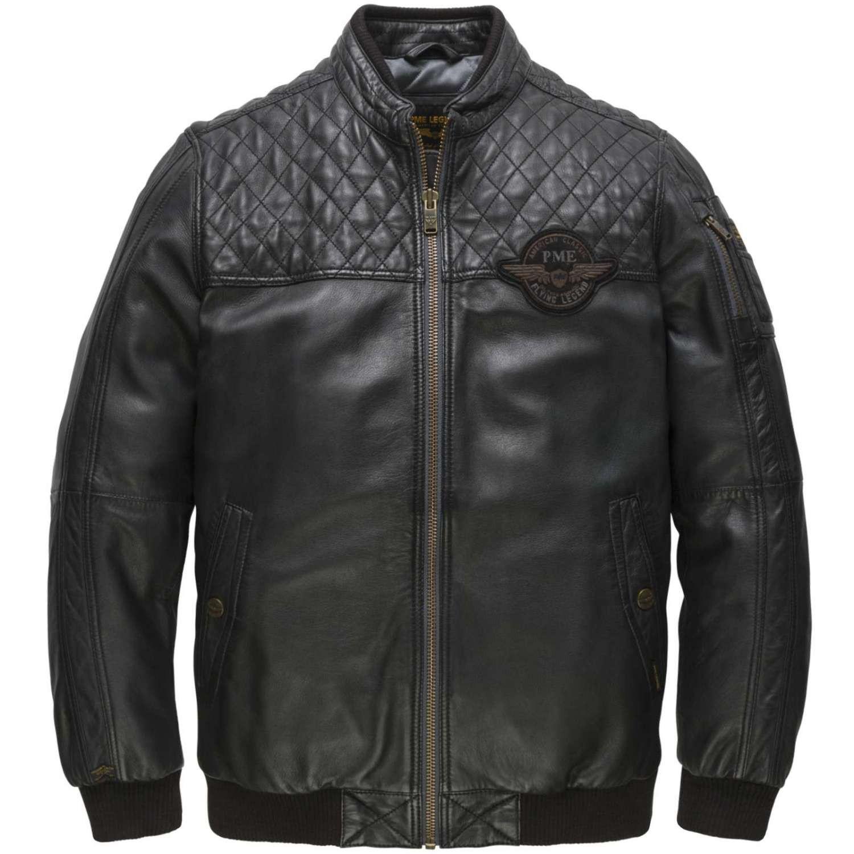Afbeelding van PME Legend Bomber jacket keystone moonless night zwart