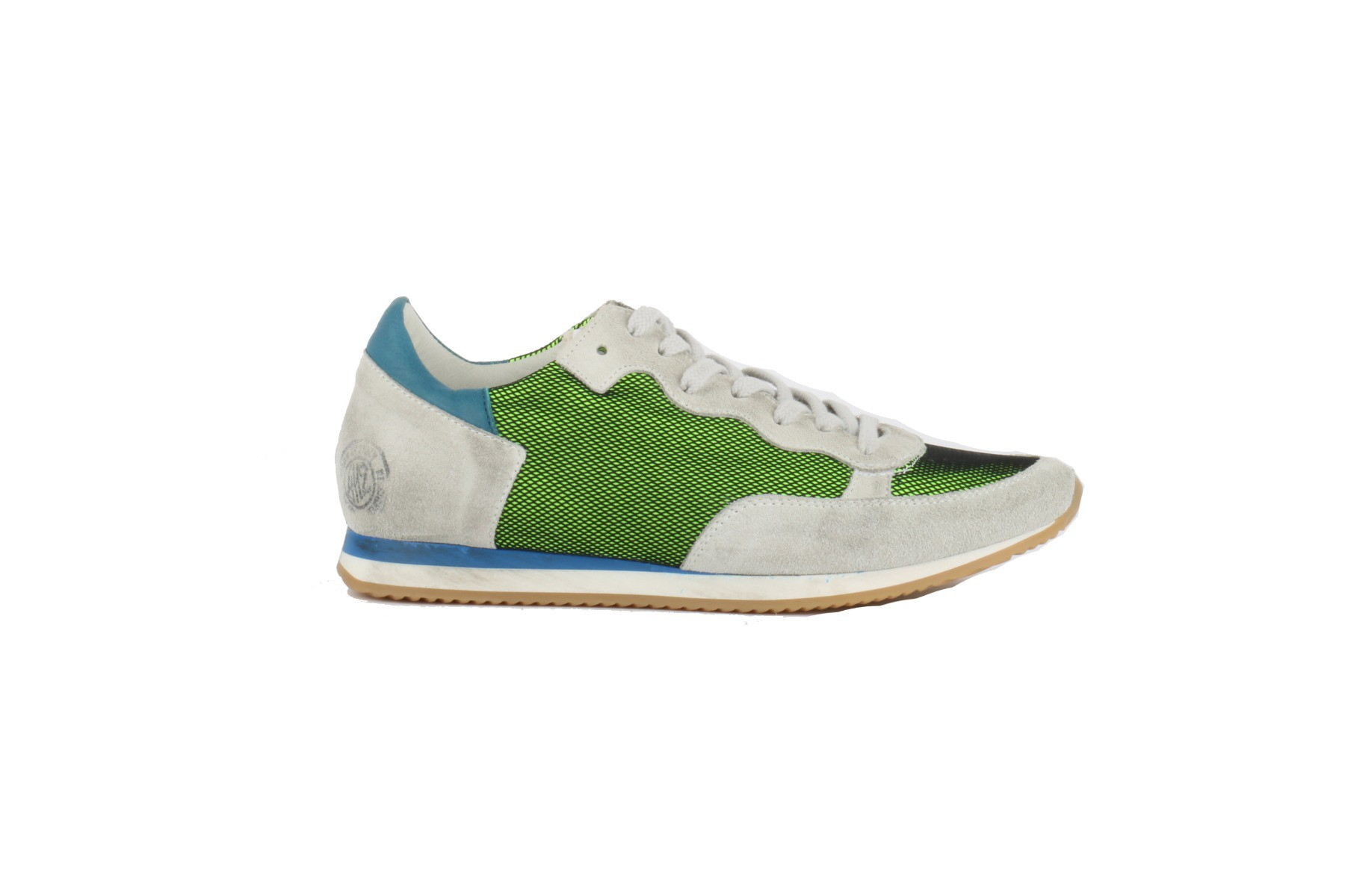 Afbeelding van 4/12 Guns 354 blauw/groen sneakers