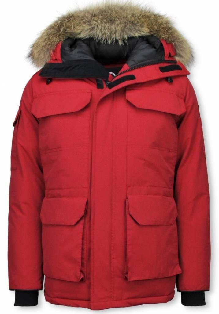 Afbeelding van Beluomo Winterjassen rood