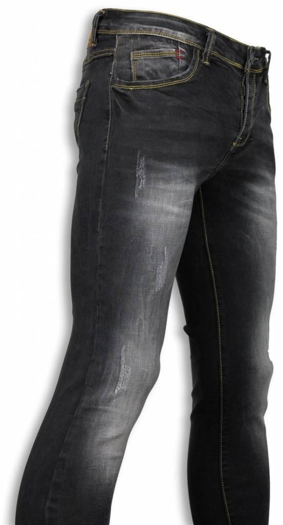 Afbeelding van Black Ace Basic jeans zwart