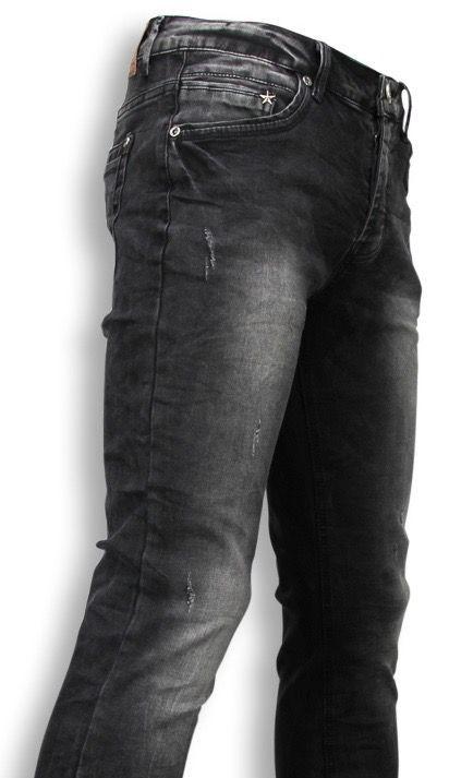 Afbeelding van Black Ace Exclusieve jeans grijs
