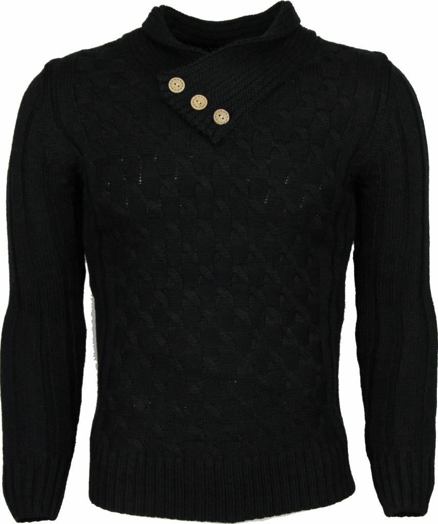 Afbeelding van Belman Casual trui zwart