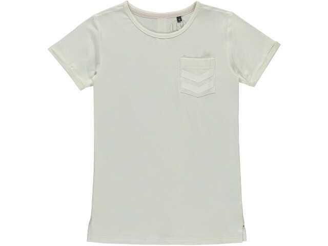 Afbeelding van Levv Shirt korte mouw birdy off-white ecru