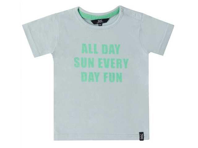 Afbeelding van Beebielove Shirt korte mouw all day groen