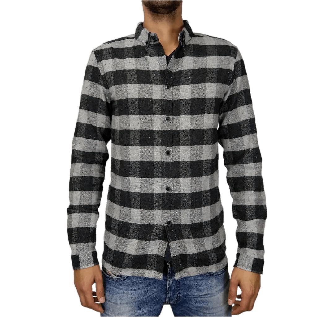 Afbeelding van Anerkjendt Cooper shirt grijs