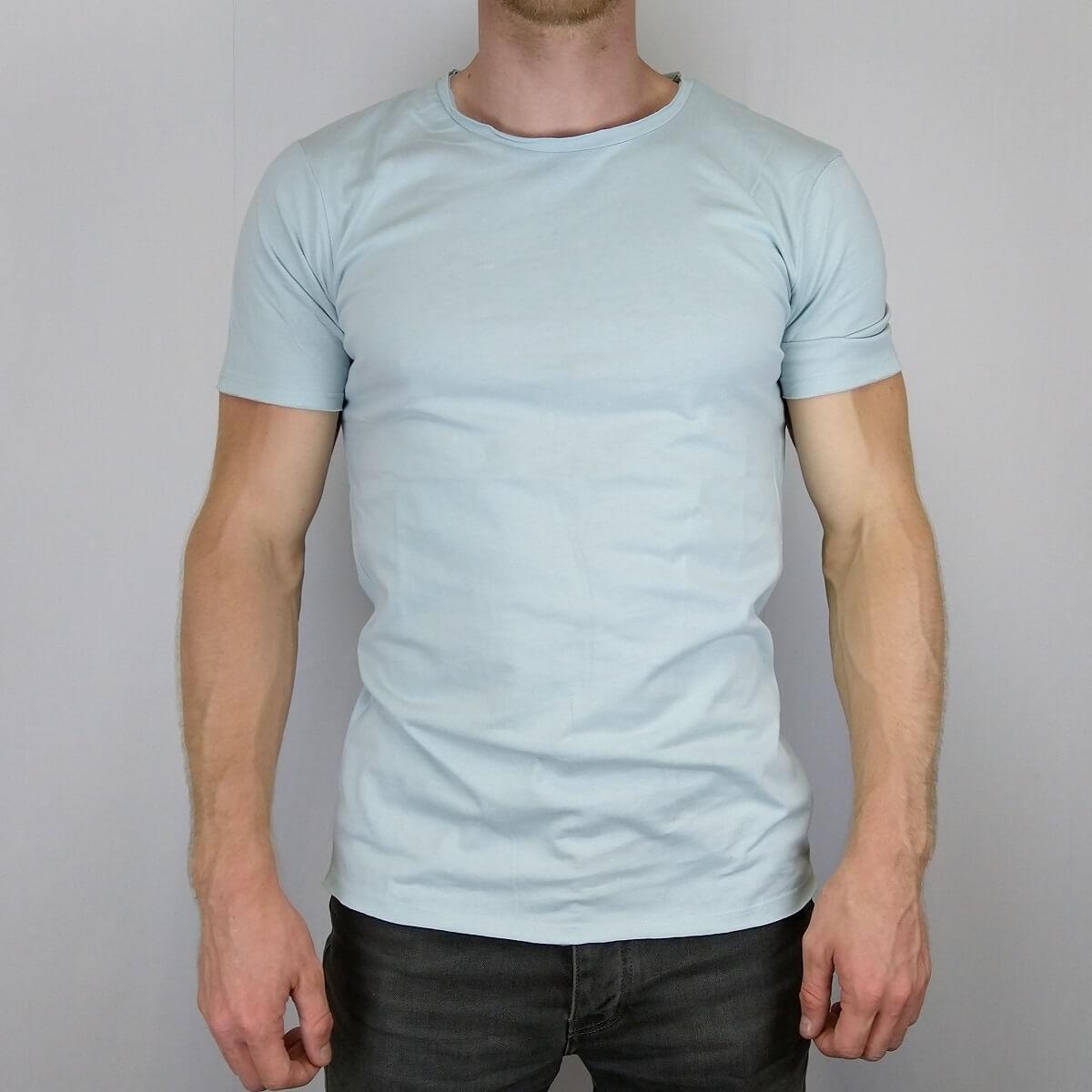 Afbeelding van Anerkjendt Canyon t-shirt blauw
