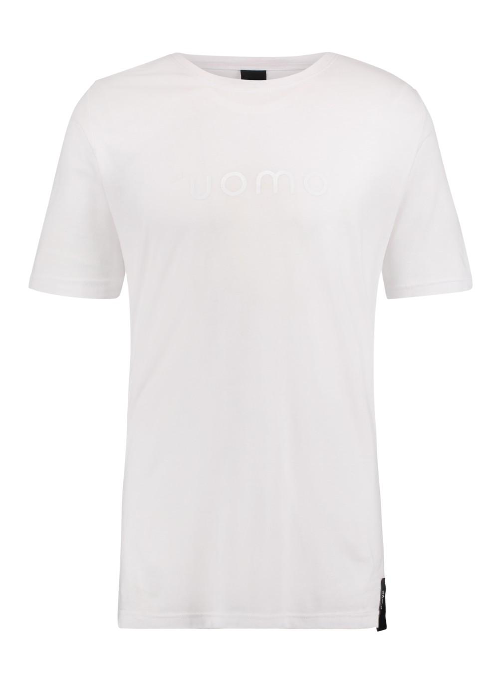 Afbeelding van 24UOMO 24 uomo my6 t-shirt – wit