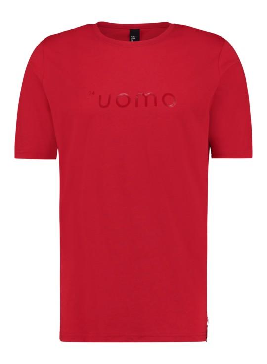 Afbeelding van 24UOMO 24 uomo my6 t-shirt – rood