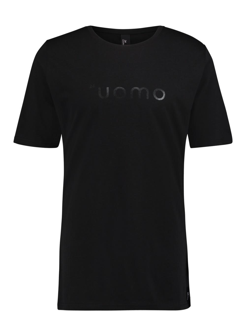 Afbeelding van 24UOMO 24 uomo my6 t-shirt – zwart