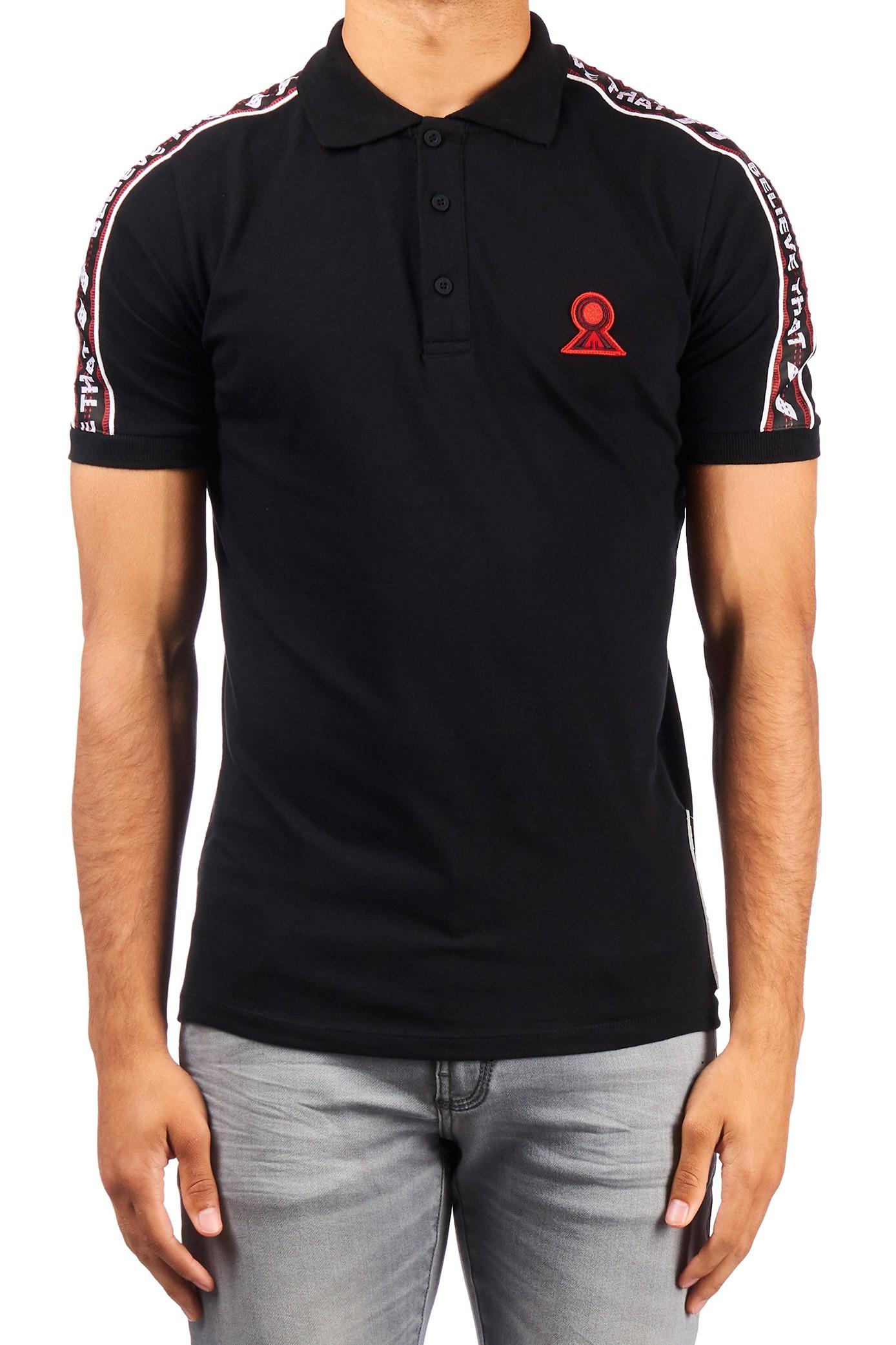 Afbeelding van Believe That Basic polo – zwart
