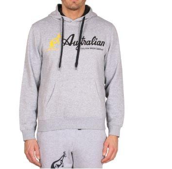 Afbeelding van Australian Australina felpa capp hoodie licht grijs