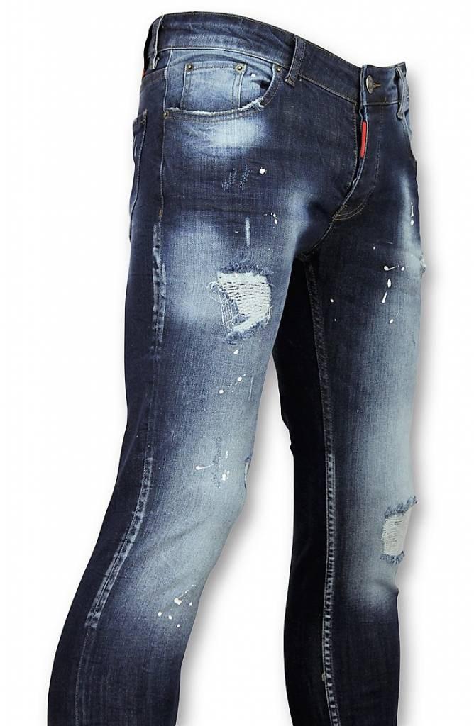 Afbeelding van Addict Heren spijkerbroek blauw